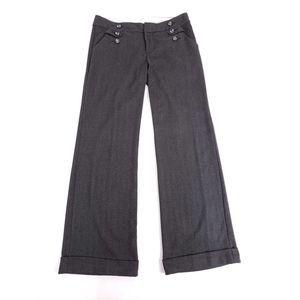 Anthropologie Idra Wide Leg Stripe Pants
